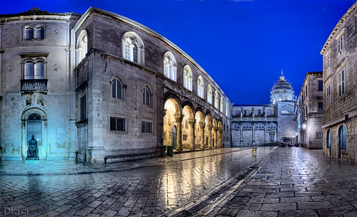 CROATIA, DUBROVNIK CATHEDRAL AND RECTOR'S PALACE | by dleiva