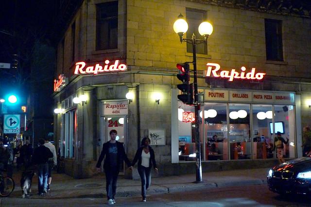 Restaurant Rapido du Plateau