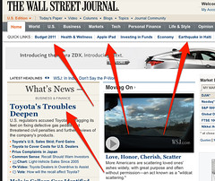 WSJ Home Page | by search-engine-land