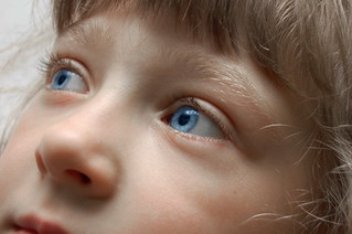 Blue-eyed little girl | by odeku03(Children and others)