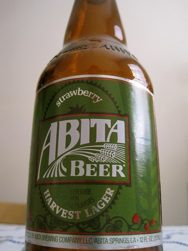 Abita Beer Strawberry Harvest Lager | by bhamsandwich