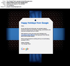 Google Holiday Present 2009 | by rustybrick