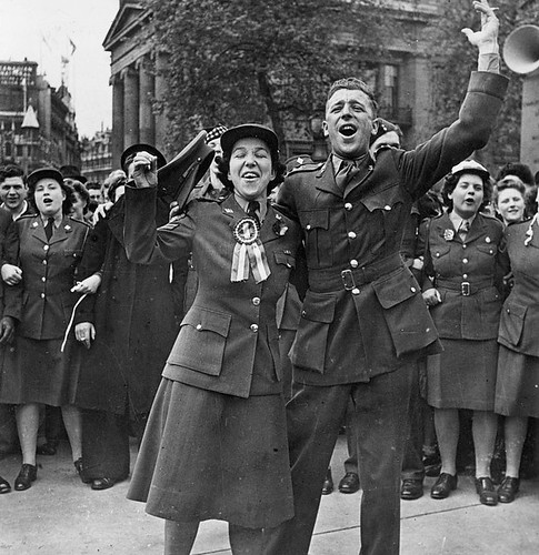 CWAC Celebrating VE-Day London 1945 | by Galt Museum & Archives on The Commons