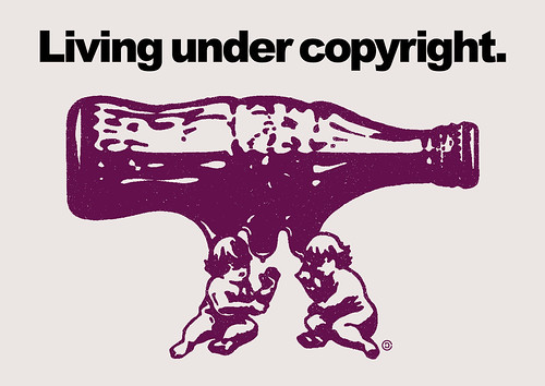 LIVING UNDER COPYRIGHT | by GRAPHIC MASHUP