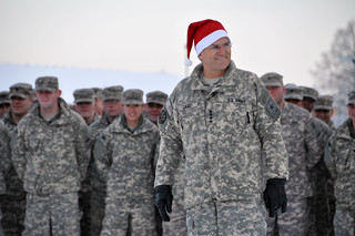 Army Chief of Staff Gen. George W. Casey Jr. displays holiday spirit | by The U.S. Army