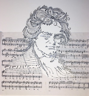 Beethoven: Ready for framing | by iri5