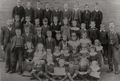 037885:Byker School Byker Unknown around 1903.