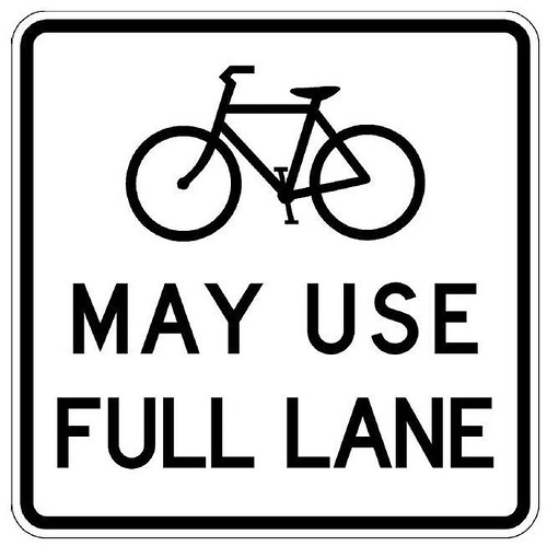 Bicycles May Use Full Lane | by Richard Masoner / Cyclelicious