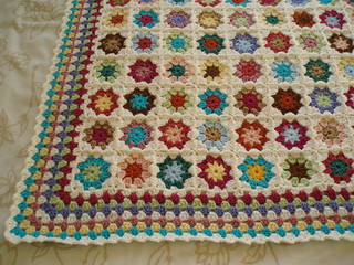 square throw detail | by bunny mummy
