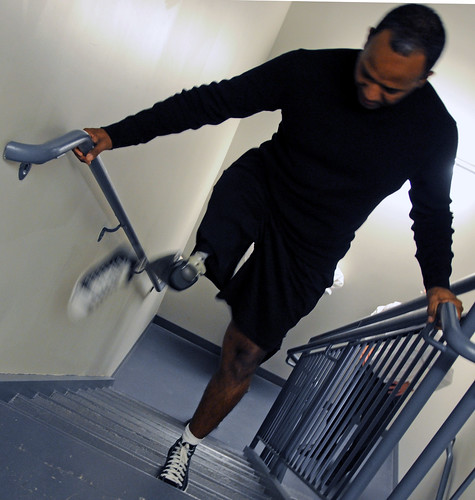 Patient at Walter Reed test next-generation prosthesis | by The U.S. Army