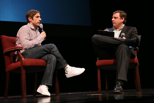 Mike Arrington + Mark Pincus | by Crunchies2009