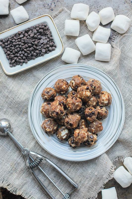 No-Bake Smore's Energy Bites (Gluten Free and Vegan)