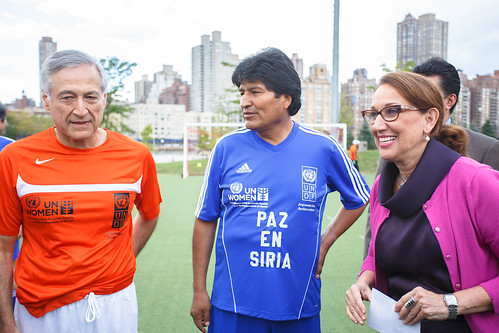 UNiTE to End Violence against Women soccer match. Photo: Fabrice Grover / UNDP | by United Nations Development Programme