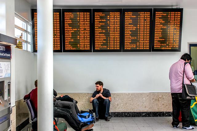 Estación de tren Southampton Central