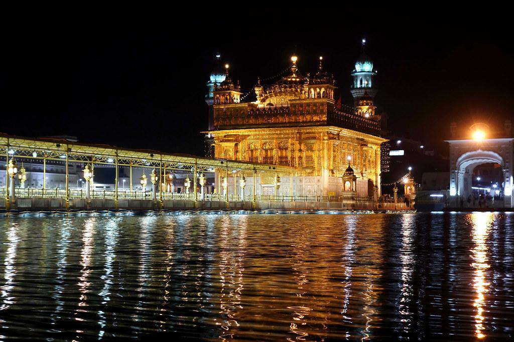 Harmandir Sahib (Golden Temple) at night