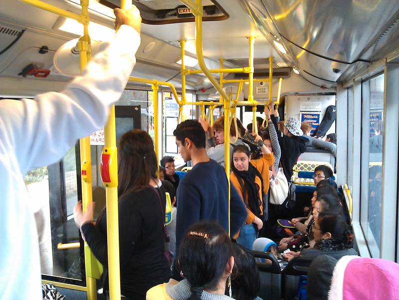 Monash Open Day 2012: A long wait (40 mins) then a packed 703 bus