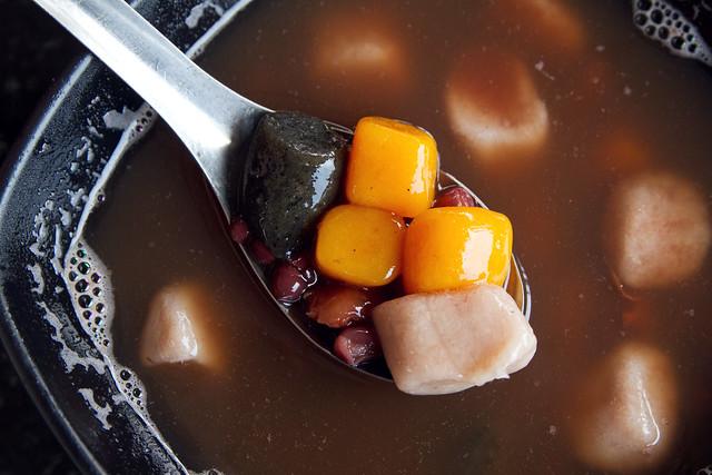 Dessert soup