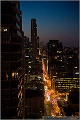 Earth Hour 2008, Yonge Street