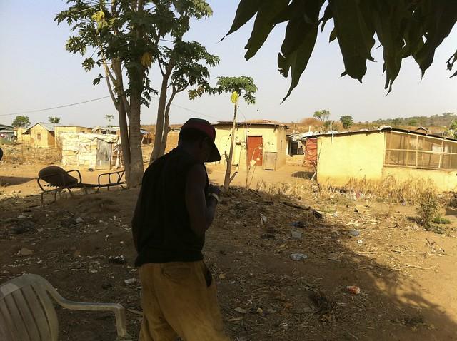 Nigeria Civil War Veteran Lieutenant Small Boy - Arowolo