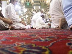 Inside Masjid al Nabawi