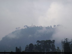 Cerro De Monserrate in clouds3