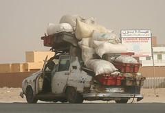Renault 12 in Nouakchott