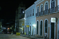 Pelourinho at night
