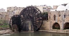 Waterwheels, Hama, Syria