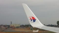 MH 757, Malaysia Airlines 737-800, Noi Bai International Airport, Hanoi