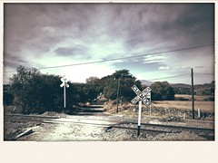 Rail crossing -Old Times