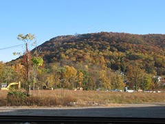 Mill Mountain in the fall