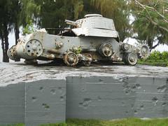 Saipan - Japanese Type 95 Ha-Go Tank