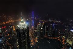 Jin Mao & Oriental Pearl tower