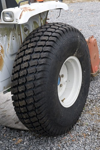 Backhoe Tire Brands : Brand new tire update on tractor here is the