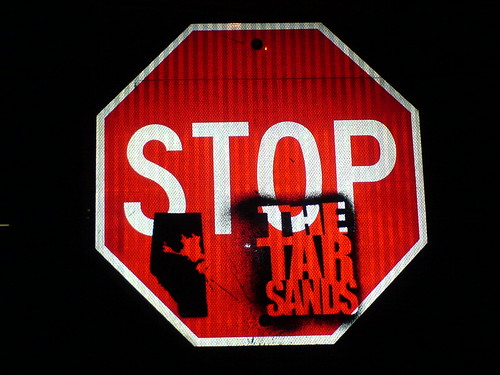 Stop the tar sands sign | by someones.life