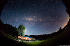 Night Sky Over Country House | by neilcreek