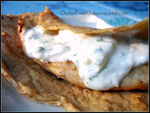 GF:  Grilled Chicken and Tzatziki Sauce | by Kate Chan