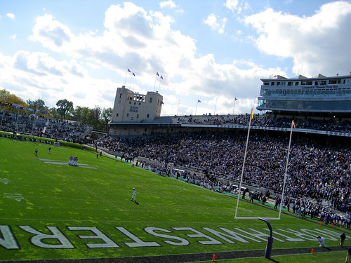 Northwestern's Ryan Field | by Frank Gruber