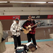 Christmas Buskers, Chicago Subway