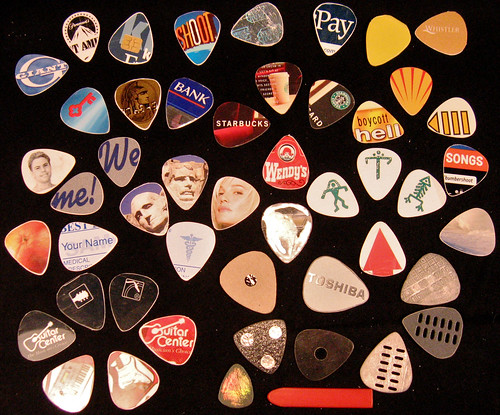 Guitar Picks | by Aud1073cH