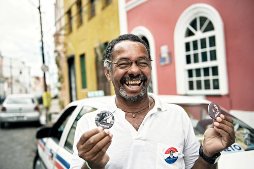 Taxista para Obama | by threecee
