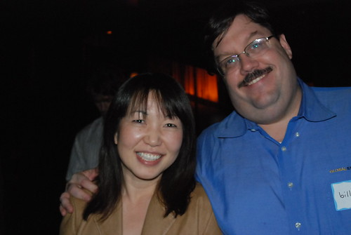 Bill & Motoko Hunt at the Zappos Party During Pubcon 2008 Las Vegas | by storyspinn
