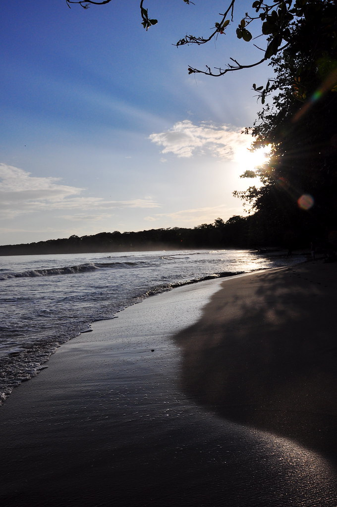 Sunrise at Cahuita