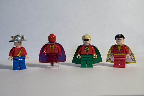 DC Hero Minifigs - Wave 4 | by levork