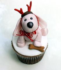 Festive Puppy by Sugarbloom Bev
