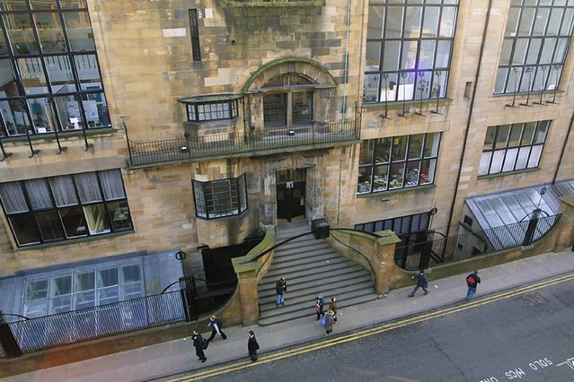 The mackintosh building at the gsa flickr for Interior design agency glasgow