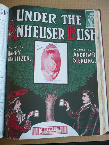 Under the Anheuser bush / words by Andrew B. Sterling ; music by Harry Von Tilzer | by MetaGrrrl