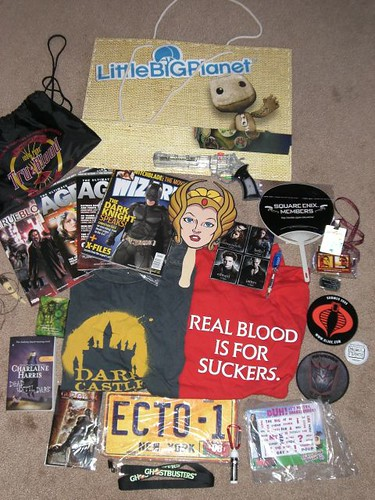 Comic-Con Swag '08 | by downbeat