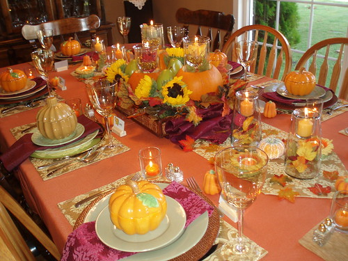 Thanksgiving Table Setting | by dining delight