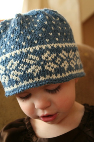 Stash busting hat for Beatrix | by ElinorB